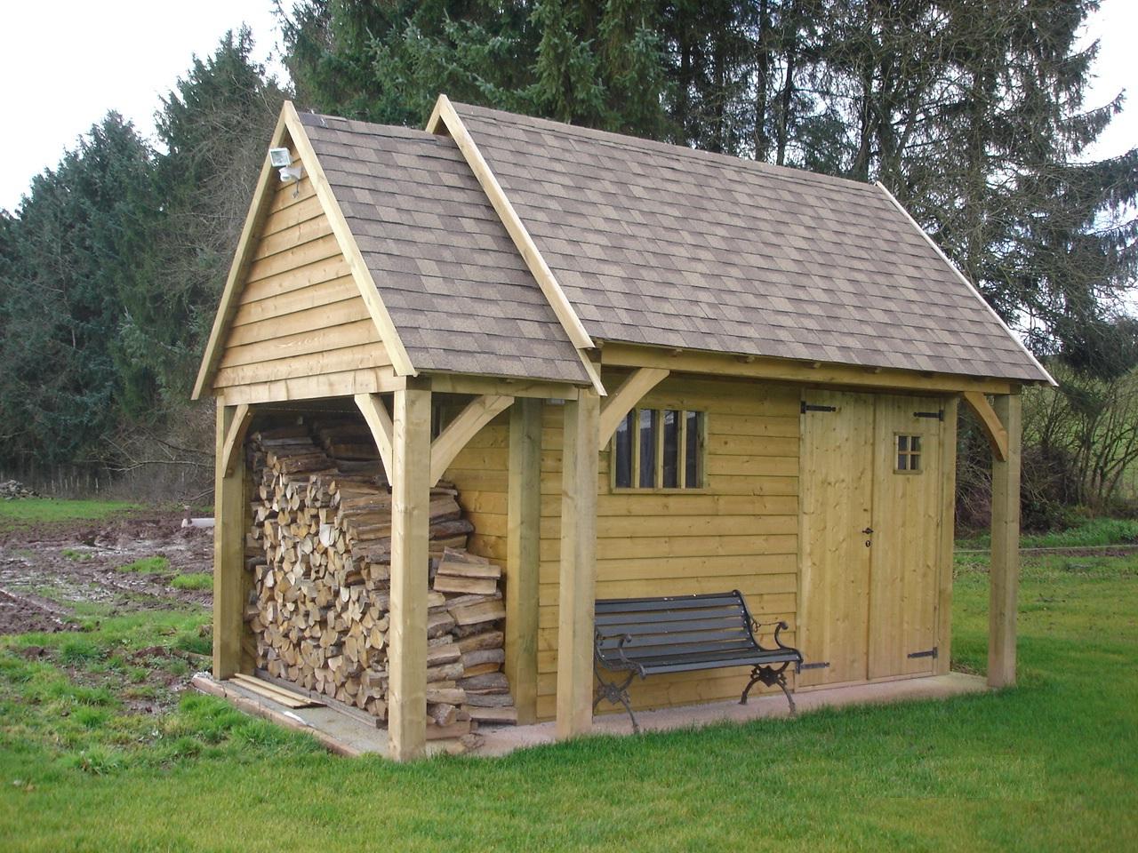 Cabanes de jardin - Le Bois au Jardin